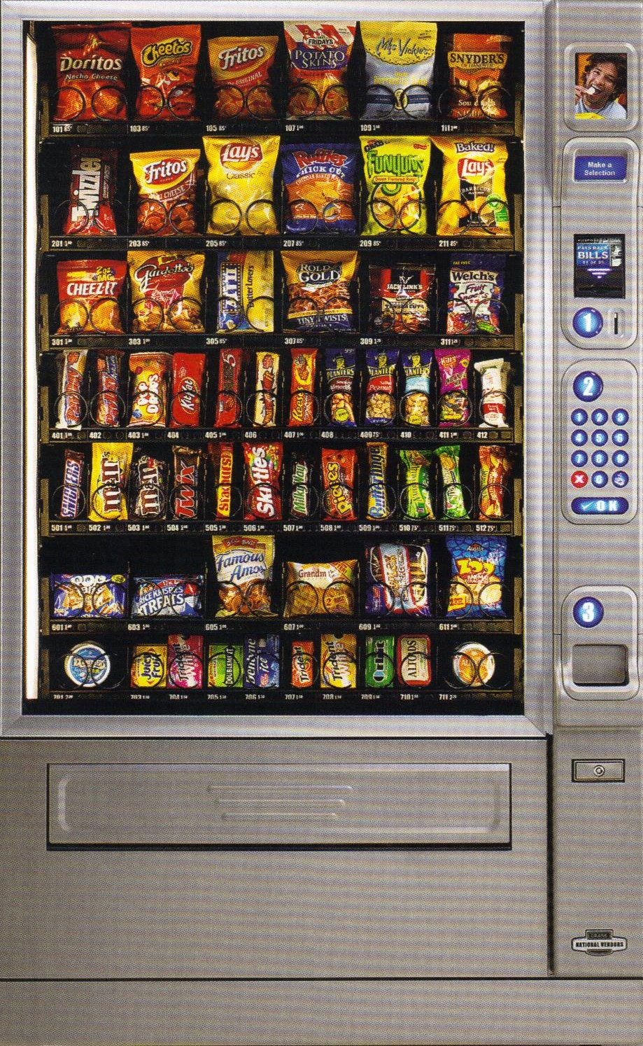 Best Snack Vending Machine